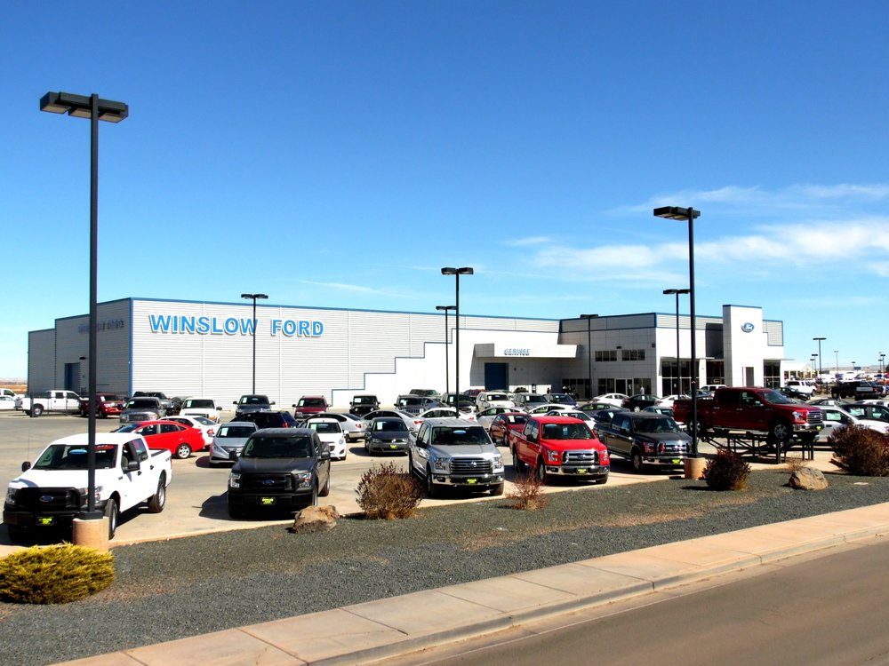 Winslow Ford: 840 Mikes Pike, Winslow, AZ