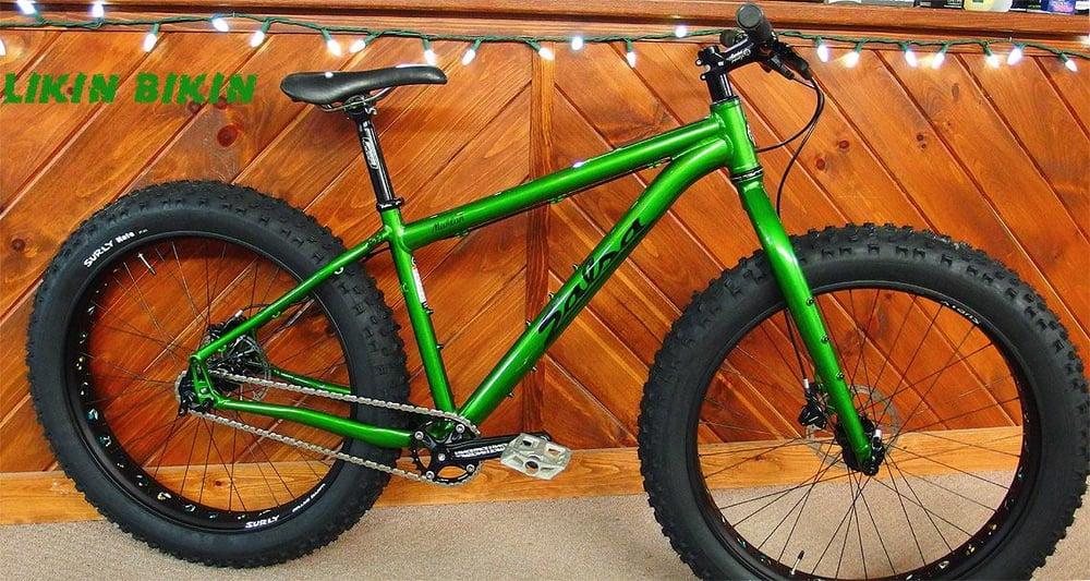 Custom Salsa Mukluk Single Speed Likin Bikin Aka Fatbike City Yelp
