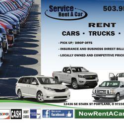 Rental Car Services >> Service Rent A Car 30 Photos Car Rental 12436 Se Stark St