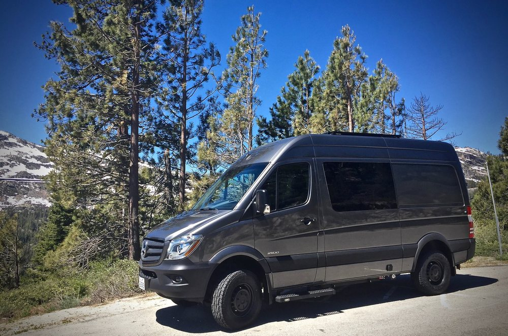 A fully converted 4x4 Sprinter van ready for sale  - Yelp