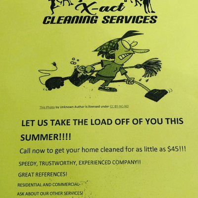 Xact Cleaning Services - Home Cleaning - Saginaw, TX - Phone