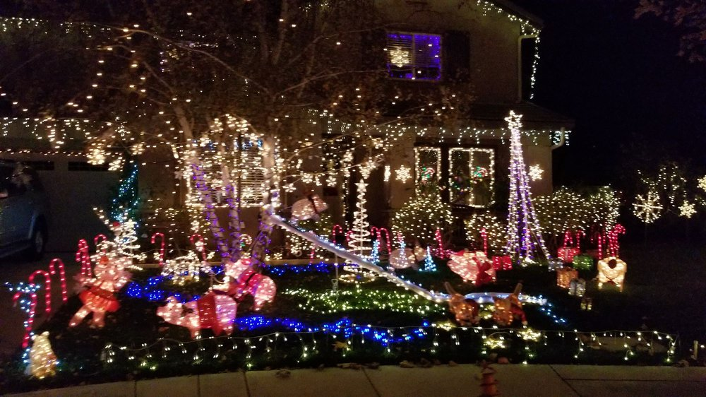 photo of santa clarita neighborhood christmas light displays santa clarita ca united states