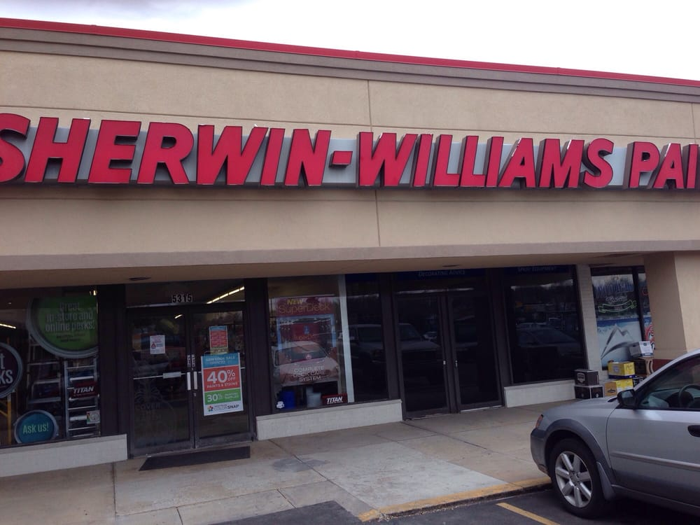 sherwin williams paint store paint stores 5315 w 38th On kwal paint near me