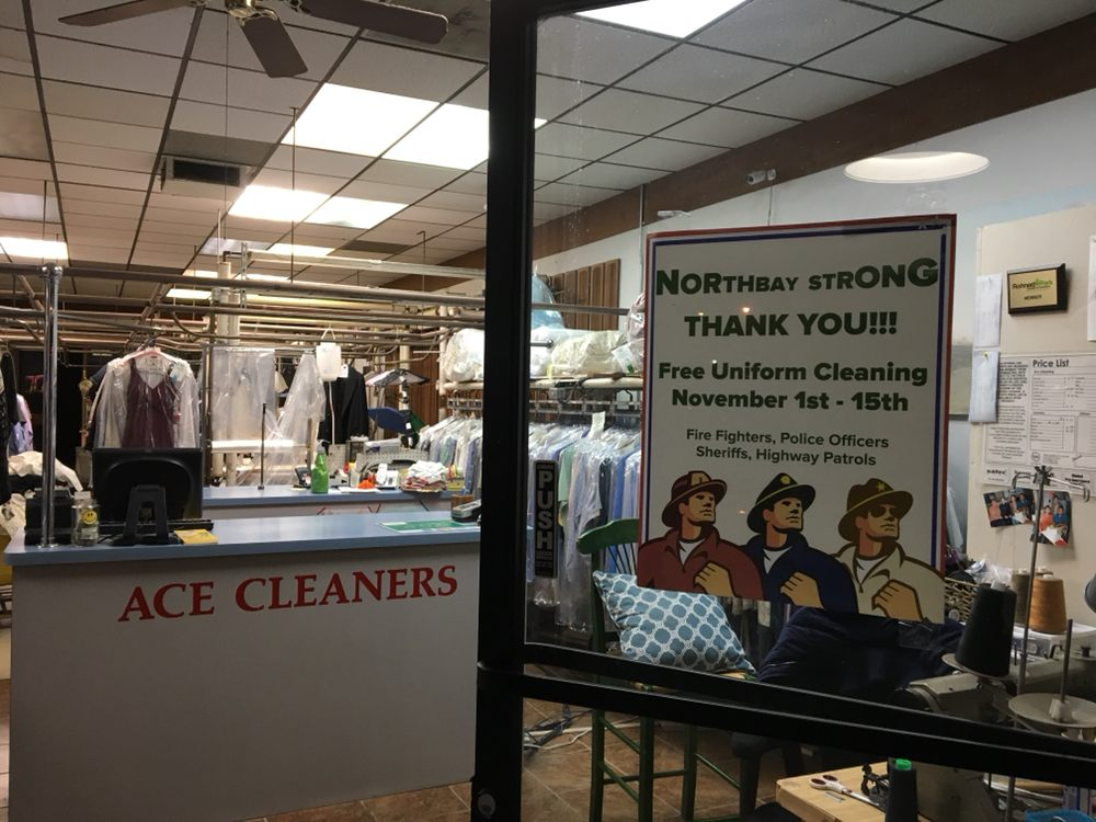 Ace Cleaners: 6404 Commerce Blvd, Rohnert Park, CA