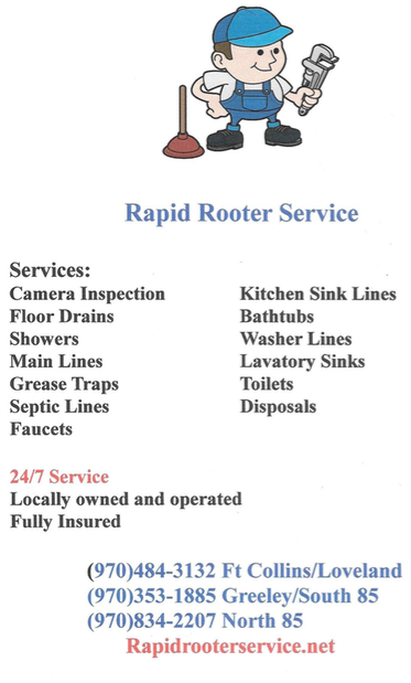 Photo of Rapid Rooter Service: Ault, CO