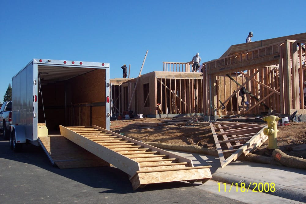 Pre built stairs delivered to jobsite in roseville yelp for Pre built stairs