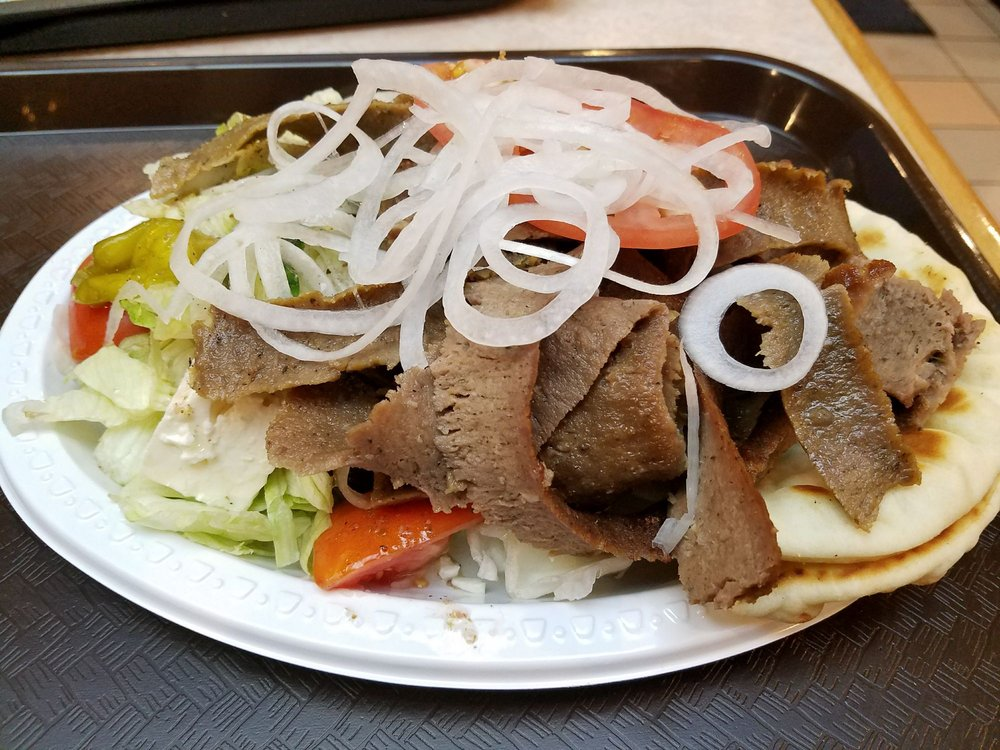 Food from Oakland Gyros