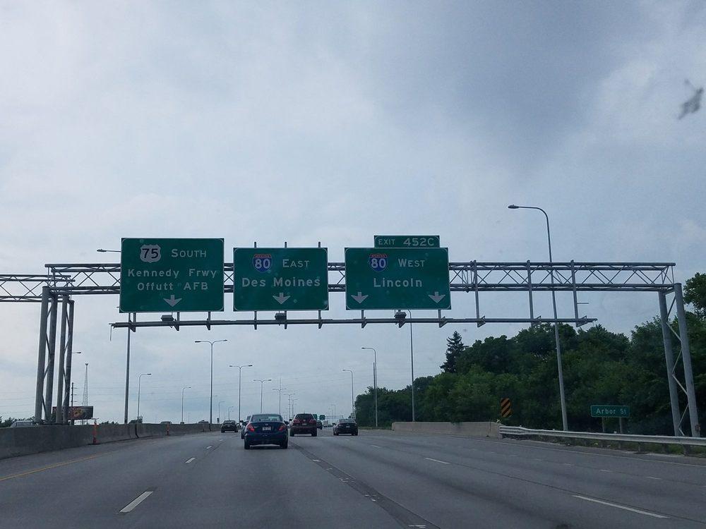 Interstate 80 - Nebraska: I-80 & I-680, Minden, IA