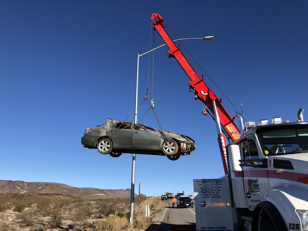 Towing business in Apple Valley, CA