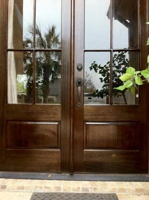 how to refinish front doorNatural Refinishing  Painters  Brandon MS  316 Austin Cir