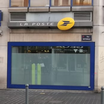 la poste bureau de poste 13 rue nationale centre lille yelp. Black Bedroom Furniture Sets. Home Design Ideas