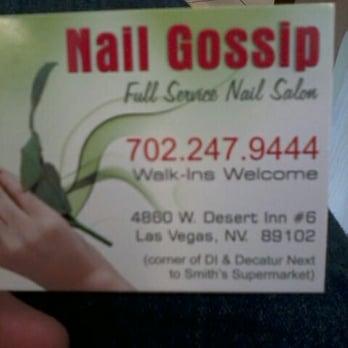 Nail gossip 24 photos 21 reviews nail salons 4862 for 24 nail salon las vegas