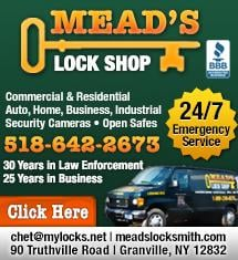 Mead's Lock Shop: Granville, NY
