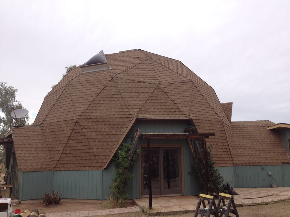 Photo of The Roof Medics - Mesa AZ United States. Geodesic Dome u003c & Geodesic Dome Shingle Re-roof San Tan Valley AZ Florence AZ - Yelp memphite.com