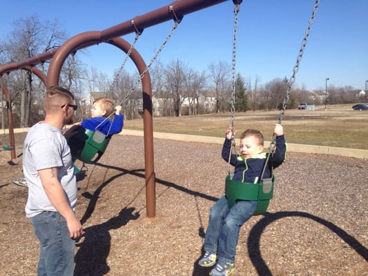 Photo of Lawrence Community Park - Indianapolis, IN, United States. And they were swingin'
