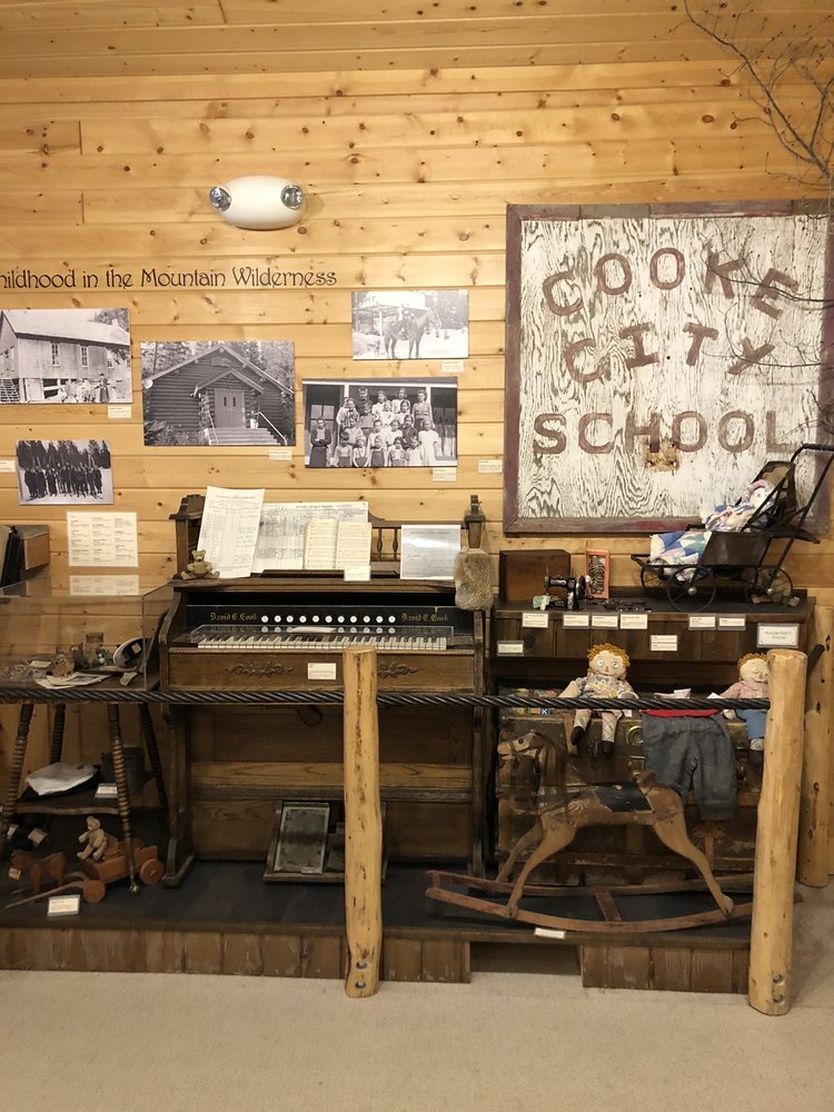 Cooke  City Visitor's Community Center: 206 W Main St, Yellowstone National Park, MT