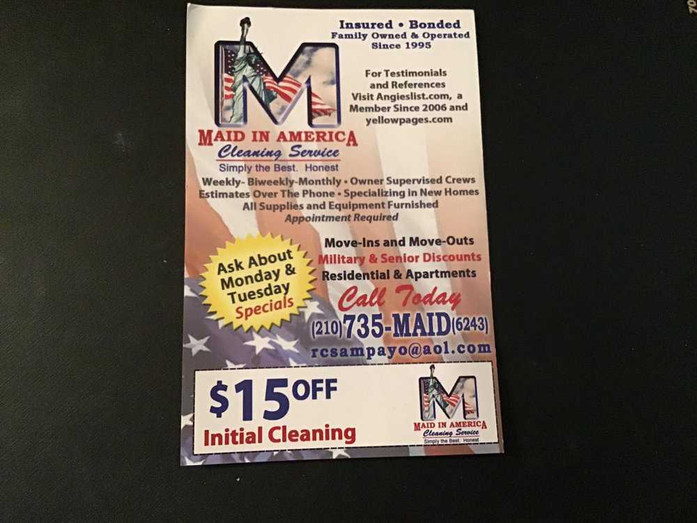 Maid in America Cleaning Service