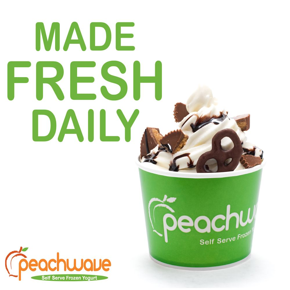 Peachwave Frozen Yogurt: 1605 Hewitt Dr, Waco, TX