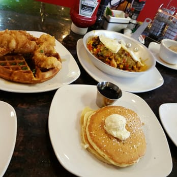 photo of colonial cafe elgin il united states chicken and waffles was - Colonial Cafe Kitchen Sink