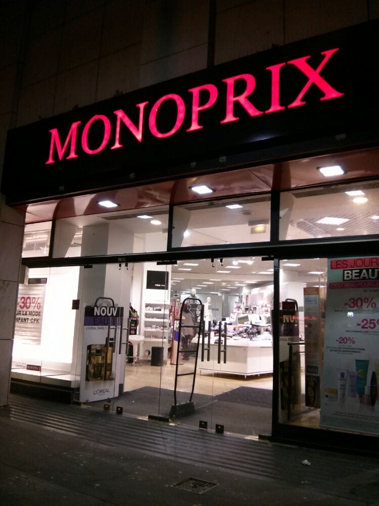 monoprix grand magasin 45 rue godefroy cavaignac 11 me paris num ro de t l phone yelp. Black Bedroom Furniture Sets. Home Design Ideas