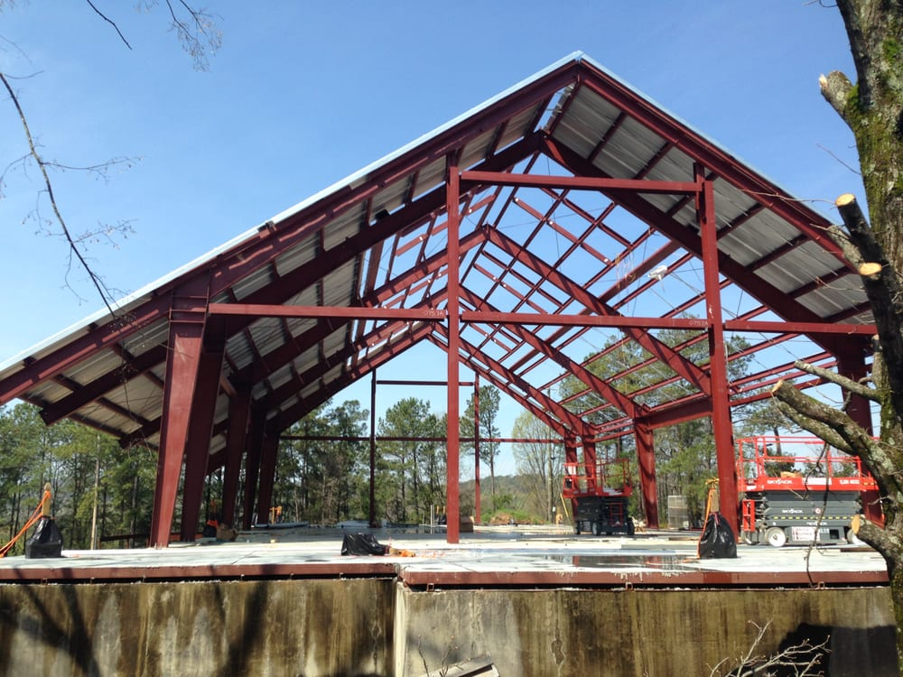 Metal Building Outlet supplied this steel building in Alabama, it is ...