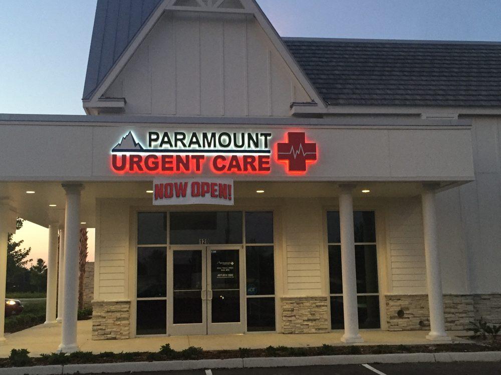 Paramount Urgent Care - Windermere: 5845 Winter Garden Vineland Rd, Windermere, FL