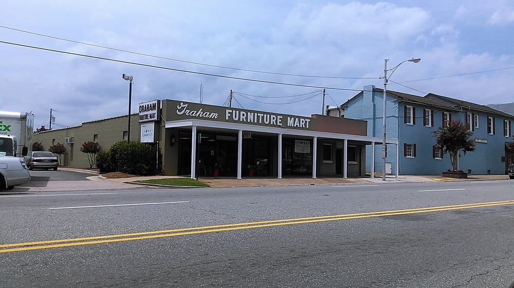 Graham Furniture Mart Inc: 22 SW Court Sq, Graham, NC