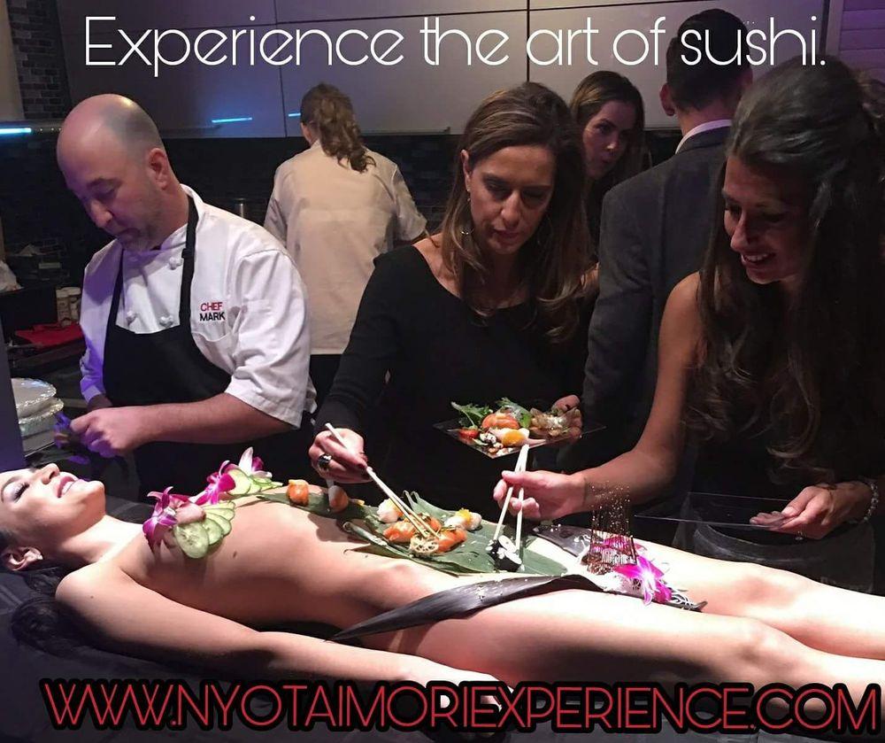 Nyotaimori Experience Catering: Los Angeles, CA