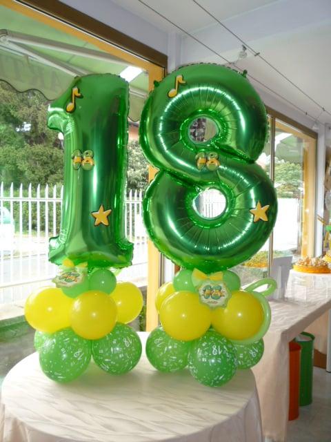 Molto Composizione Palloncini per festa dei 18 Anni - Yelp HW88