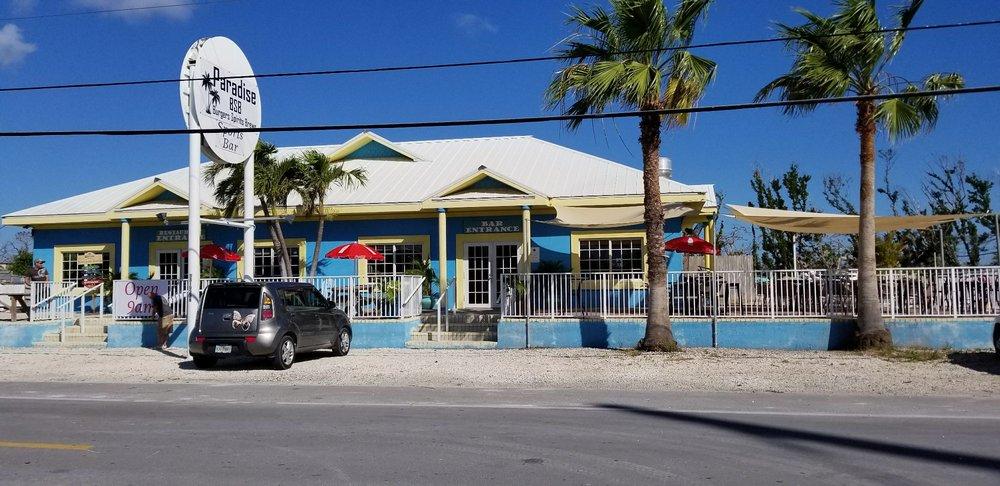 Paradise Burgers Spirits & Brews
