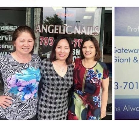 Angelic Spa and Nails: 7535 Linton Hall Rd, Gainesville, VA