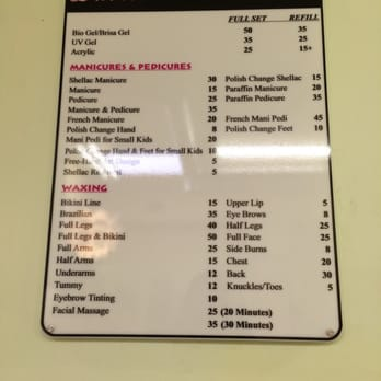 Photo Of Davisville Nails Spa Ltd Toronto On Canada Price List