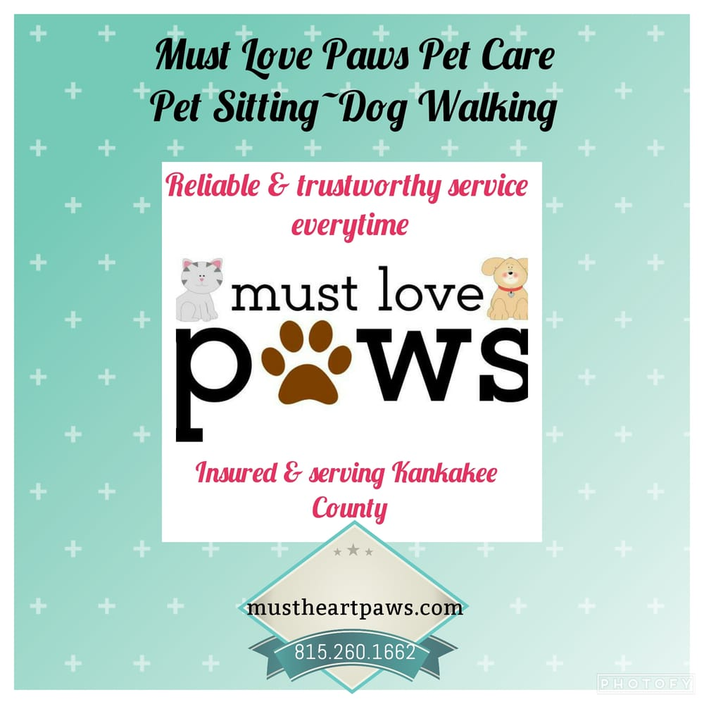 Must Love Paws: 690 School Dr, Bourbonnais, IL