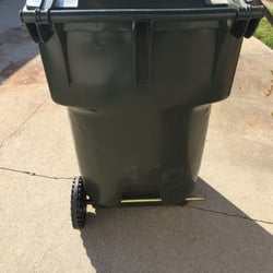 A Mesa Officials Are Considering Making Trash Containers With Built In Locks Available To More Residents As Tool Thwart Scavengers