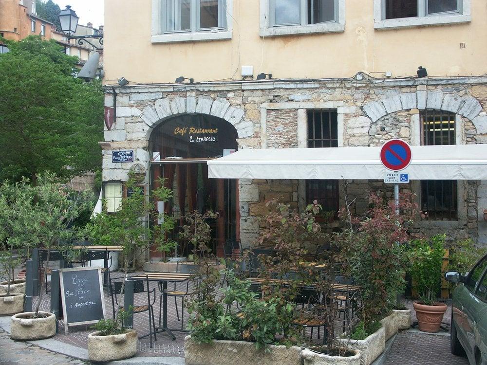 La Terrasse Franz u00f6sisch 35 Rue St Georges, Saint