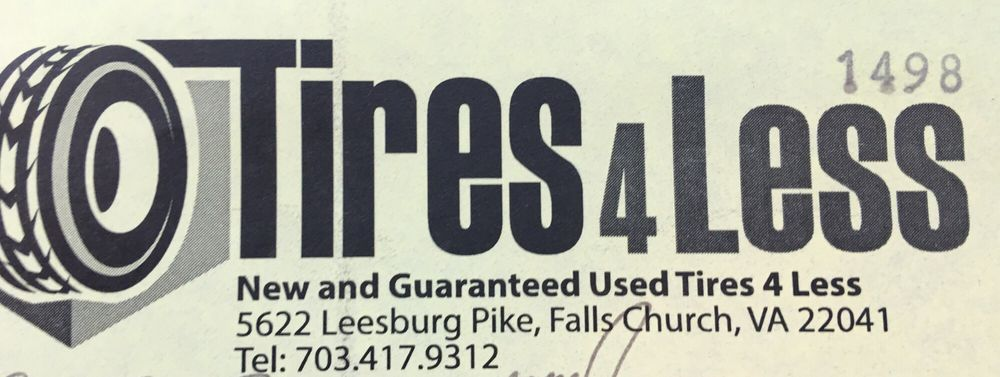 Tires 4 Less: 5622 Leesburg Pike, Falls Church, VA