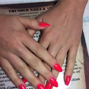 Thunder nails 90 photos 20 reviews nail salons 11635 sw photo of thunder nails oklahoma city ok united states prinsesfo Image collections