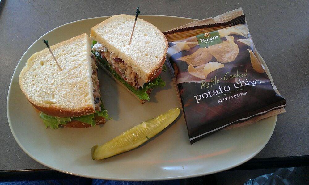 panera bread napa chicken salad
