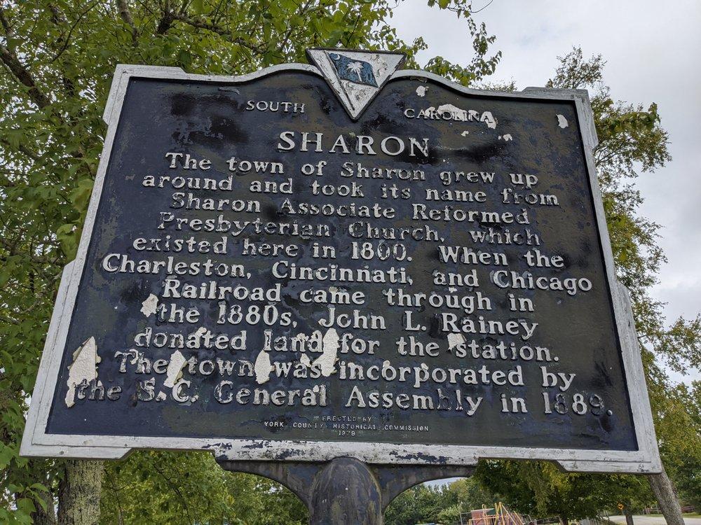 Sharon Historical Marker: 3110 Bell Ave, Sharon, SC