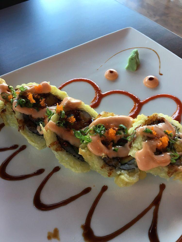 Food from Sushi Sushi