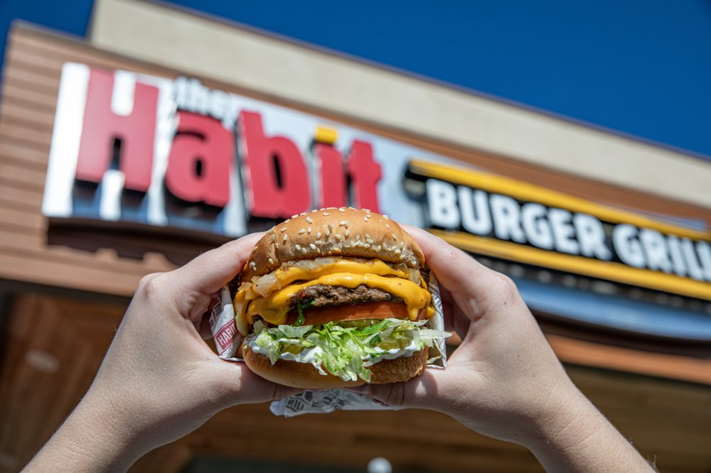 Food from The Habit Burger Grill