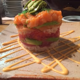 Mt. Fuji Restaurants - Hasbrouck Heights, NJ, United States. Sushi tower now at Mt Fuji