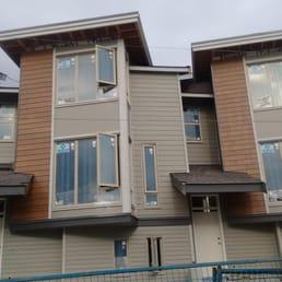 Foto Zu Revit Construction   Burnaby, BC, Kanada. Multifamily Complex.  Hardy Lap