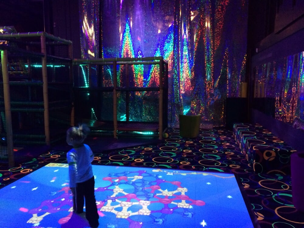 Laser Tag Floor Plan: Play Area And Interactive Floor Mat