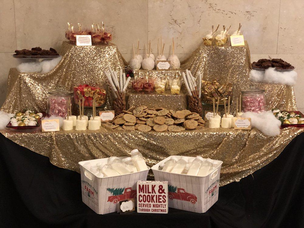 Christmas Themed Wedding Dessert Table Yelp