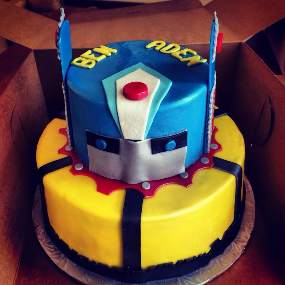 Transformer Fondant Cake Yelp