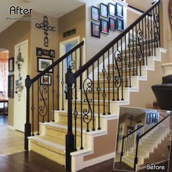 Photo Of Stair Remodel   Houston Stair Parts   Pasadena, TX, United States