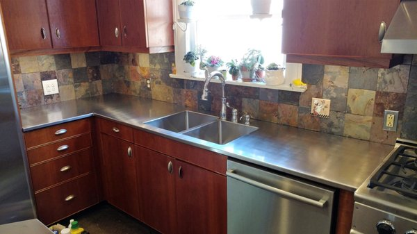 Charmant Photo Of Stainless Steel Countertops Of NC   Sanford, NC, United States.  Stainless