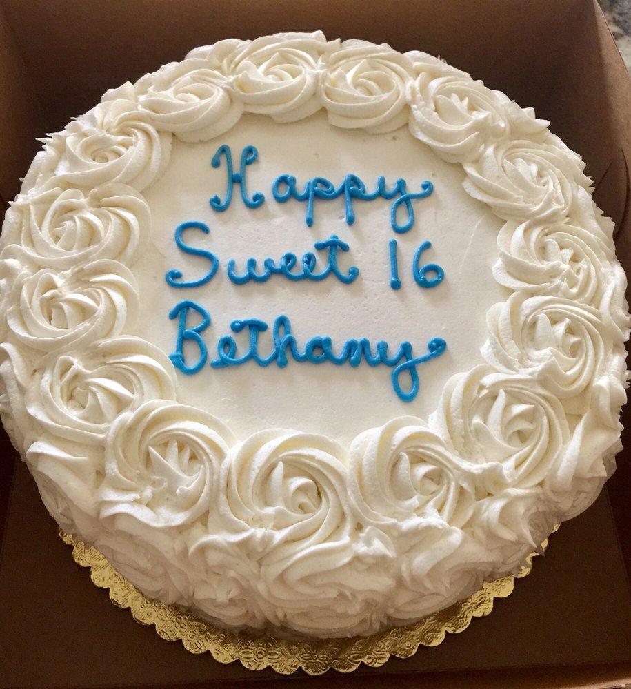 Vanilla Caramel Birthday Cake Yelp