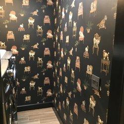Photo of Wallpaper Company - Scottsdale, AZ, United States. Fun doggie wallpaper by